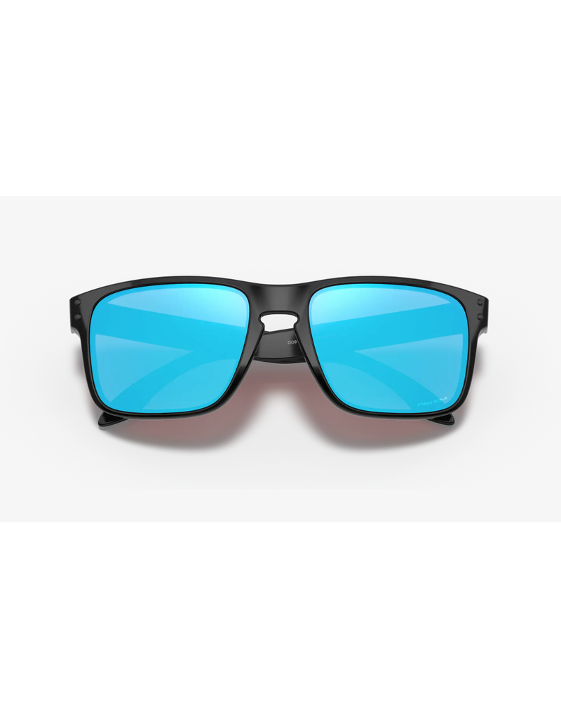 Oakley Oakley Sunglasses Holbrook Polished Black / Prizm Sapphire Lens