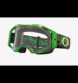 Oakley Oakley Goggles Airbrake MTB TLD Dazzle Green / Prizm Low Light Lens