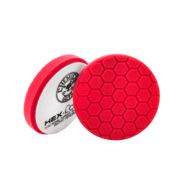 Hex-Logic 5.5'' HEX-LOGIC PAD -RED PERFECTION ULTRAFINE WAX & SEALANT FINISHING PAD (5.5''inch)