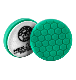 "Hex-Logic 4 "" HEX-LOGIC Pad GREEN LIGHT CUT-HEAVY POLISH MINOR SCRATCH & SWIRL REMOVER Pad- 4""inch)"