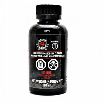 HOPPE'S BLACK GUN CLEANER 4OZ STEP 1