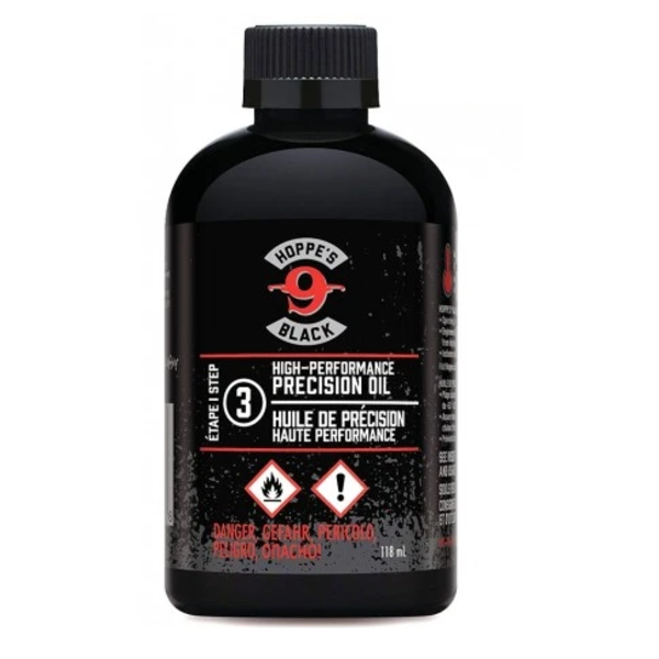 HOPPE'S BLACK GUN OIL 4OZ STEP 3