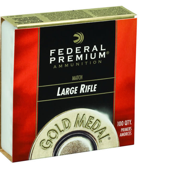 FEDERAL GOLD MEDAL MATCH LARGE RIFLE PRIMERS