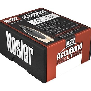 NOSLER 7MM 168GR ACCUBOND LR 100CT