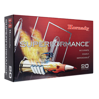 HORNADY 6.5 CREEDMOOR 120GR GMX SUPERFORMANCE