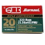 BARNAUL 223 REM 55GR FMJ