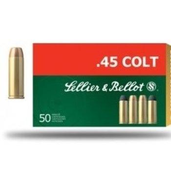 SELLIER & BELLOT 45 COLT 230GR JHP