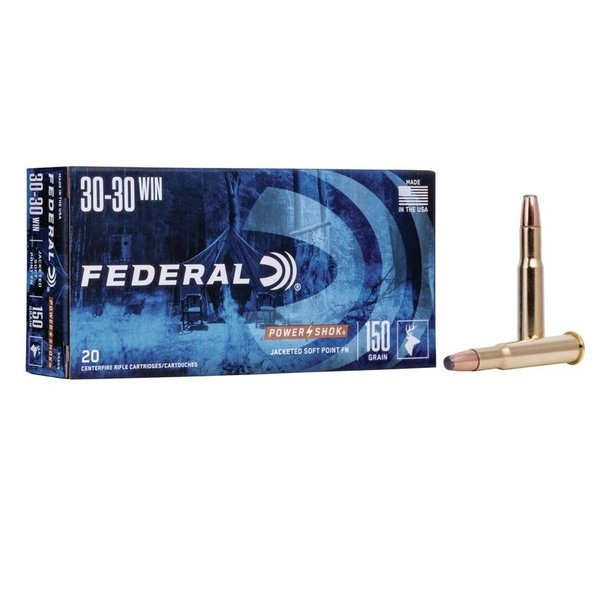 FEDERAL 30-30 WIN 150GR SP FN