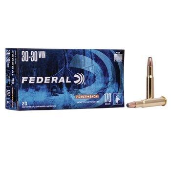 FEDERAL 30-30 WIN POWER SHOK 170GR SP RN