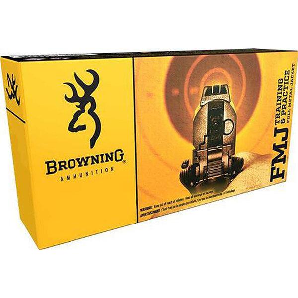 BROWNING 9MM LUGER 115GR FMJ