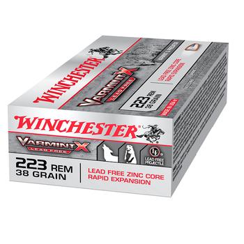 WINCHESTER 223 REM 38GR VARMINT X