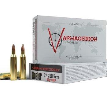 NOSLER 22-250 55GR HP VARMAGEDDON