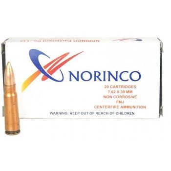 NORINCO 7.62X39 122GR FMJ 20CT