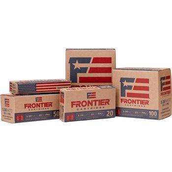 HORNADY FRONTIER 223 REM 68GR BT HP MATCH