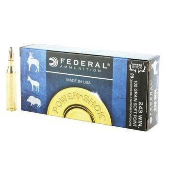 FEDERAL 243 WIN 100GR POWER SHOK