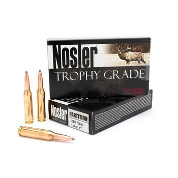 NOSLER 260 REM 125GR PARTITION