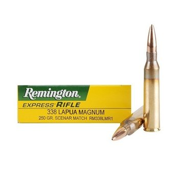 REMINGTON 338 LAPUA 250GR MATCH
