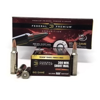 FEDERAL 300 WSM 180GR NOSLER PARTITION VITAL SHOK