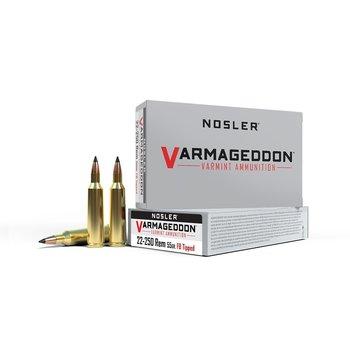 NOSLER 22-250 55GR FB TIPPED VARMAGEDDON