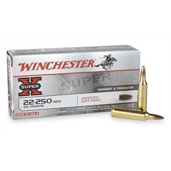 WINCHESTER 22-250 55GR VARMINT X