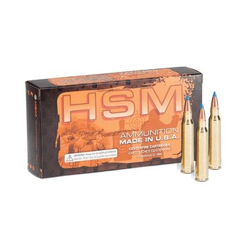 HSM AMMUNITION 220 SWIFT 55GR BERGER MATCH VARMINT