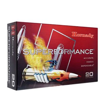 HORNADY 338 RCM 225GR SST SUPERFORMANCE
