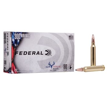 FEDERAL 300 WIN MAG 180GR NON TYPICAL WHITETAIL
