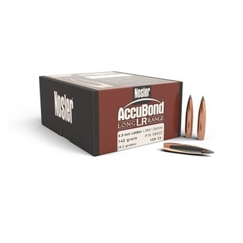 NOSLER 6.5MM 142 GR LR ACCUBOND