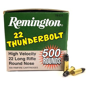 REMINGTON 22 LR THUNDERBOLT 500 ROUNDS
