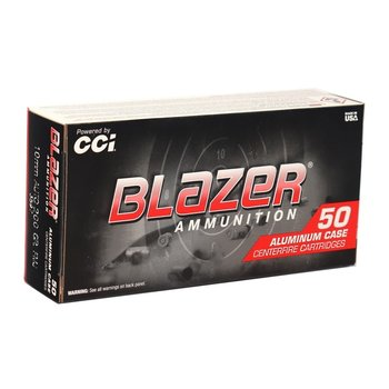 CCI BLAZER 10MM 200GR FMJ 50CT