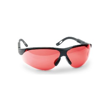 WALKERS ELITE SAFETY GLASSES - VERMILLION