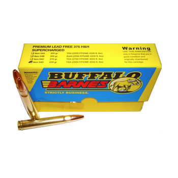 BUFFALO BORE 375 H&H 235GR  SUPERCHARGED