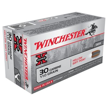WINCHESTER 30 CARBINE 110GR HOLLOW SOFT POINT