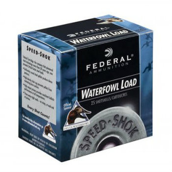"FEDERAL 12GA 3-1/2"" 1-3/8 OZ BB SPEED SHOK"