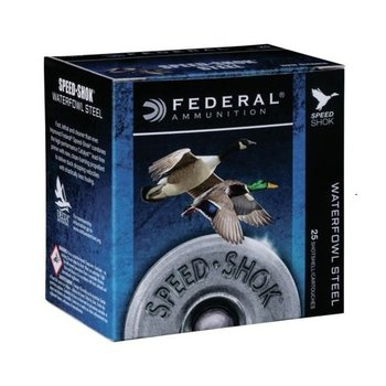 "FEDERAL 12GA 3-1/2"" 1-3/8 OZ #3 SHOT SPEED SHOK"