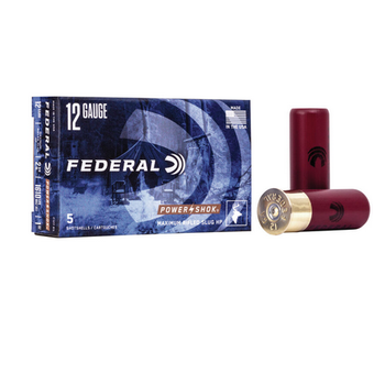 "FEDERAL 12GA 2-3/4"" 1OZ MAXIMUM RIFLED SLUG"