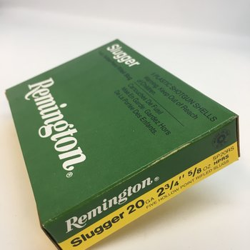 "REMINGTON 20GA 2-3/4"" 5/8 OZ SLUGGER"