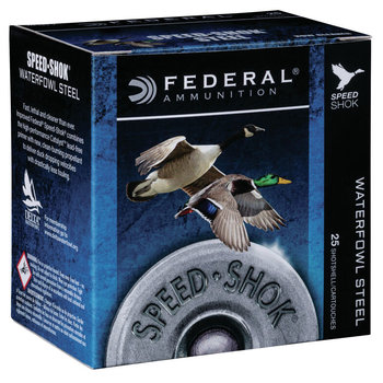 "FEDERAL 12GA 3-1/2"" 1-1/2 OZ BB SPEED SHOK"