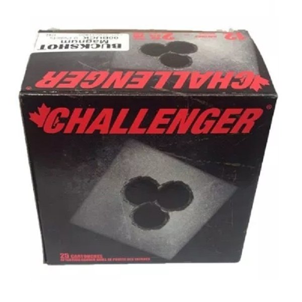 "CHALLENGER 12GA 2-3/4"" BUCKSHOT SINGLE BOX"