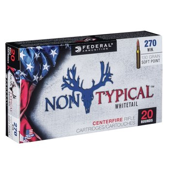 FEDERAL 270 WIN 130GR NON TYPICAL WHITETAIL SP