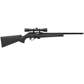 "REMINGTON 597 SYN 22LR 20"" BLACK W/SCOPE"
