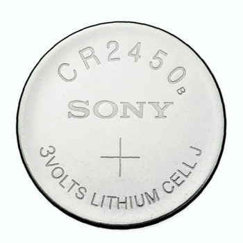 SONY LITHIUM 3V BUTTON CR2450 BATTERY