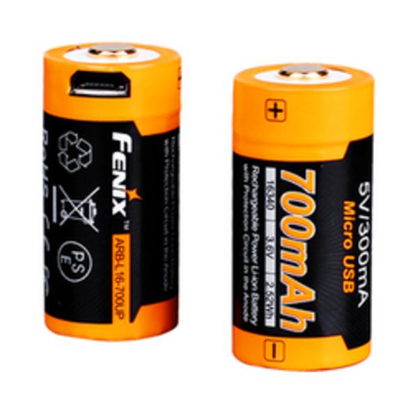 FENIX 700 UP MAH USB POWER BATTERY F