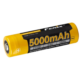 FENIX 5000 MAX RECHARGEABLE 21700 BATTERY