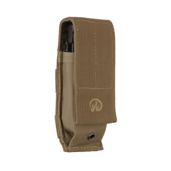 "LEATHERMAN MOLLE SHEATH BROWN LG 4"" TOOL"