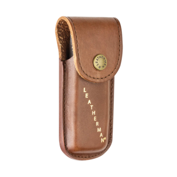 LEATHERMAN LEATHER SHEATH BROWN SMALL