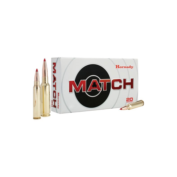 HORNADY 6.5 CREEDMOR 147GR ELD-MATCH 20CT