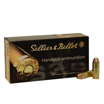SELLIER & BELLOT 10MM 180GR FMJ 50CT