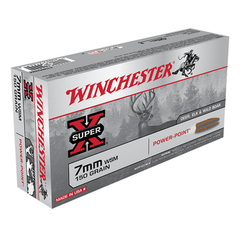 WINCHESTER 7MM WSM 150GR POWER-POINT