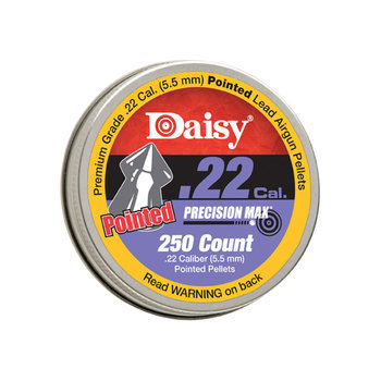 DAISY PELLET 22CAL POINTED LED PRECISION MAX 250CT